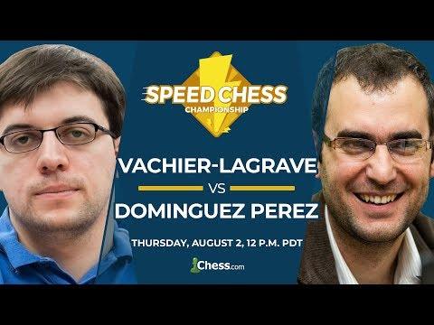 2018 Speed Chess Championship: Vachier-Lagrave Vs Dominguez