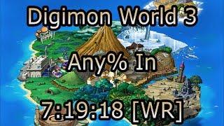 Digimon World 3 - Any% Speedrun in 7:19:18 [Former WR]