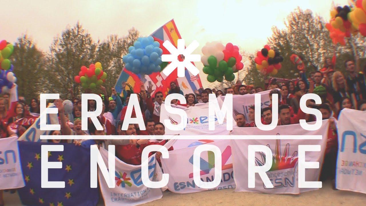 Get your Erasmus Encore | Join the Erasmus Student Network