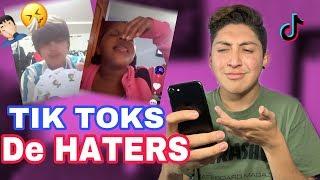 REACCIONANDO A TIK TOKS DE MIS HATERS || Jason Thores