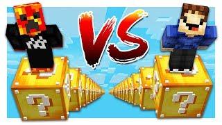 PRESTONPLAYZ vs MRWOOFLESS! (1v1 Minecraft Parkour Race)