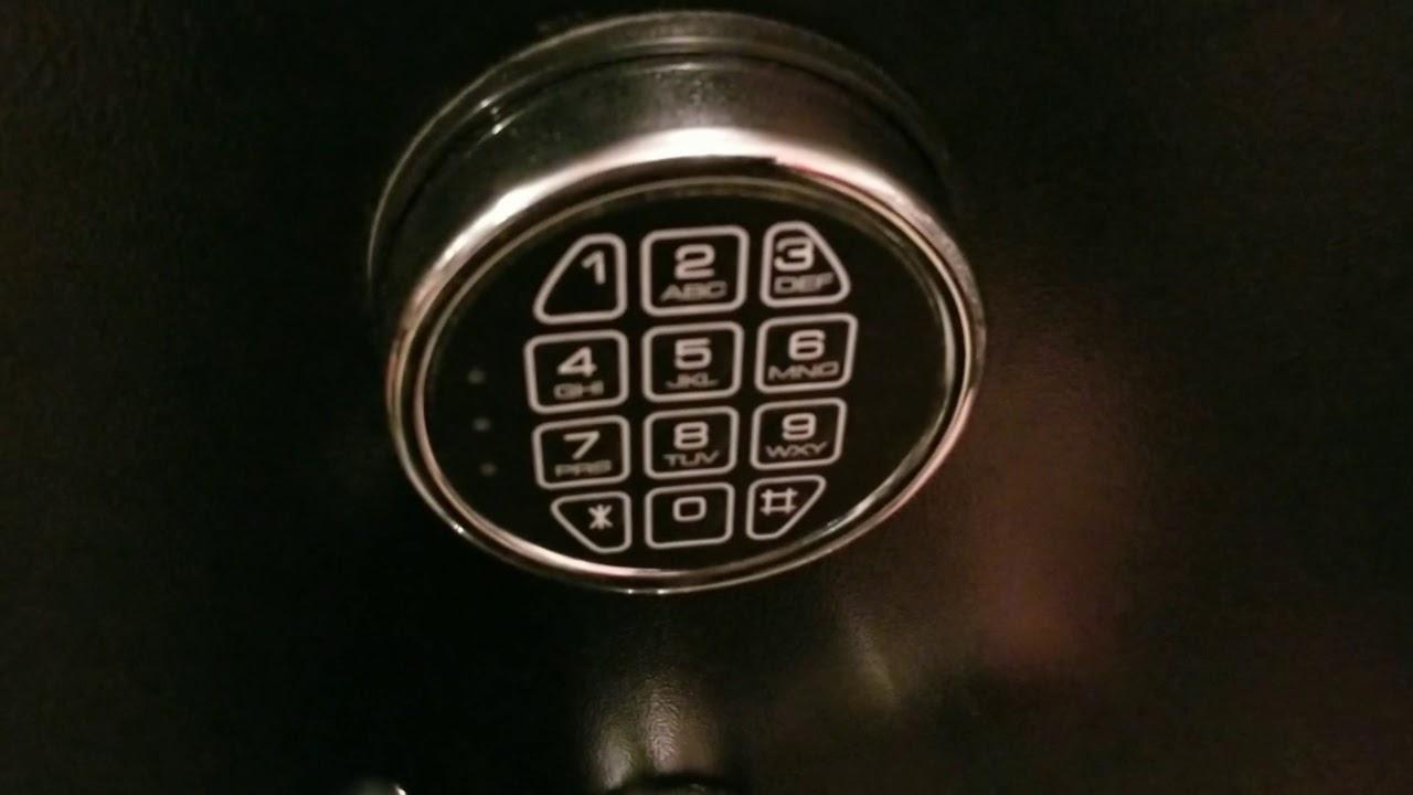 DIY Reprogramming Gun Safe Electronic Keypad