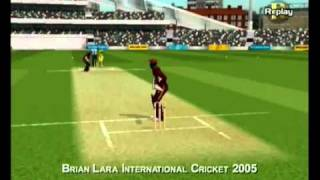 Brian Lara International Cricket 2005 PC Gameplay + Download Link - YouTube.FLV