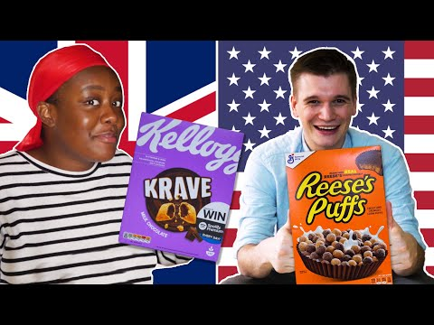 American & British People Swap Cereal