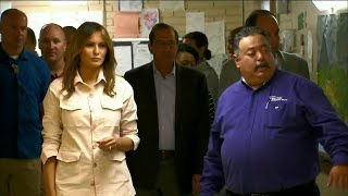 Melania Trump visits Texas facility housing migrant children