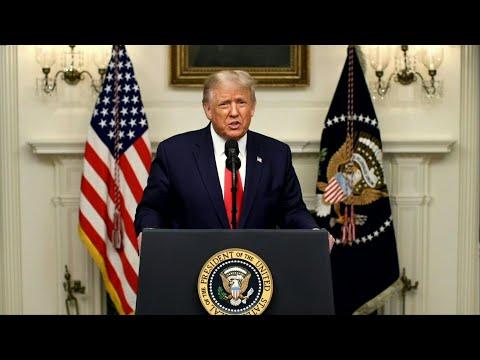AFP Português: Trump culpa China e promete prosperidade   AFP
