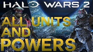 VORIDUS AND PAVIUM ALL UNITS AND LEADER POWERS SHOWCASE! Halo Wars 2 Awaken the Nightmare leader DLC