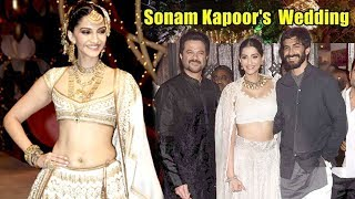 Sonam Kapoor's Wedding Celebrations Outside Anil Kapoor's House In Mumbai