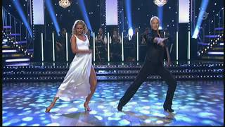 Stefan Sauk och Malin Johansson - paso doble - Let's Dance (TV4)