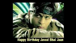 Udit Narayan : Le Le Mere Yaar Jaam Se Tu : ( Birthday Dedication To Javed Bhai )