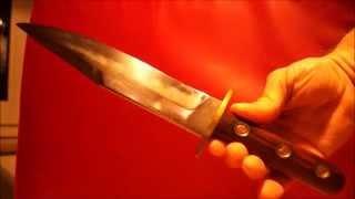 custom bowie knife Sheffield England style IXL handgemachtes Bowiemesser