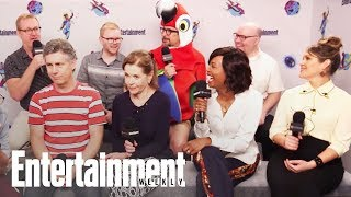 Archer: Danger Island Cast Teases Futuristic Season On Spaceship | SDCC 2018 | Entertainment Weekly