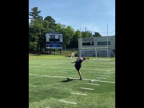 Hayden Pack | National Kicking Rankings | July 2021
