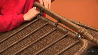 Assembly Video Casco Bay Resin Wicker Porch Swing