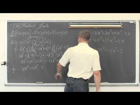 Product Rule for Derivatives