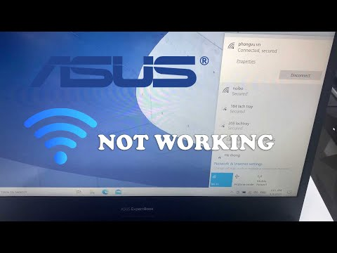 How To Fix Asus Wi-Fi Not Working in Windows 10/8/7