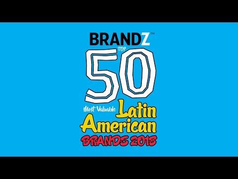 BrandZ Top 50 Most Valuable Latin American Brands 2018 | Countdown