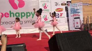 Enaaya khan Ballet dance performance for be happy event..