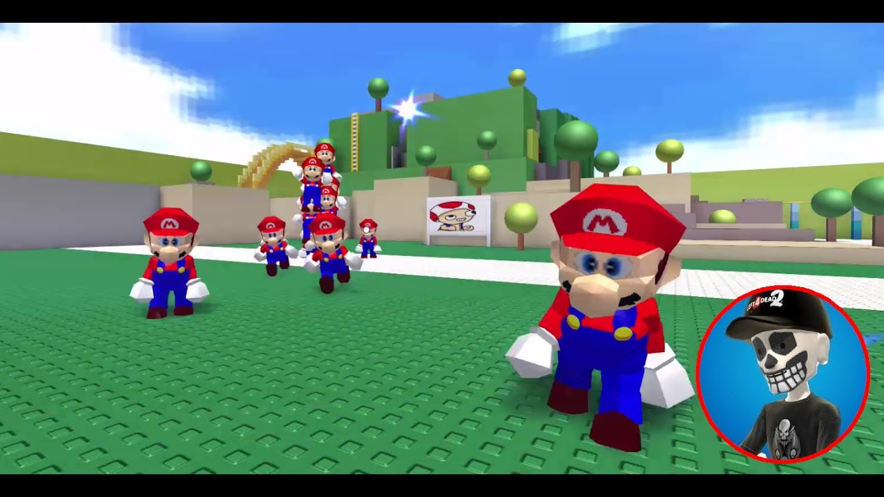Roblox Can You Survive An Army Of Mario's?