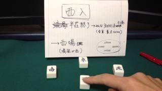 【初心者講座116】初めての麻雀 「西入(シャーニュウ)」
