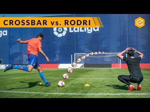 CROSSBAR CHALLENGE vs. RODRI Atlético de Madrid