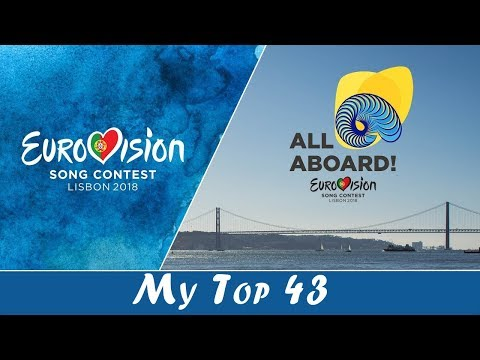 ESC 2018 - TOP 43 w/ Comments | From the USA