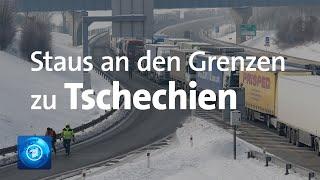 Auf den autobahnen von tschechien richtung deutschland geht es kaum mehr voran. schon sonntagabend bildeten sich kilometerlange staus. grund: die verschärfte...