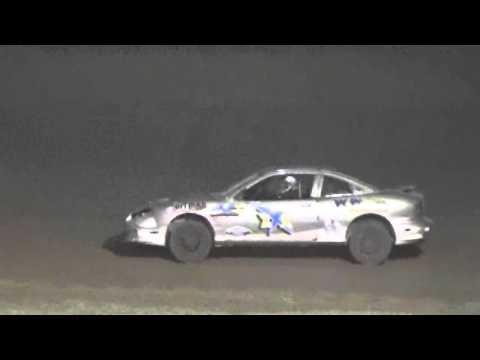 Ark La Tex Speedway 4 Cylinder A feature 9/26/15
