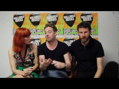 Kaiser Chiefs interview at Mallorca Rocks 2012