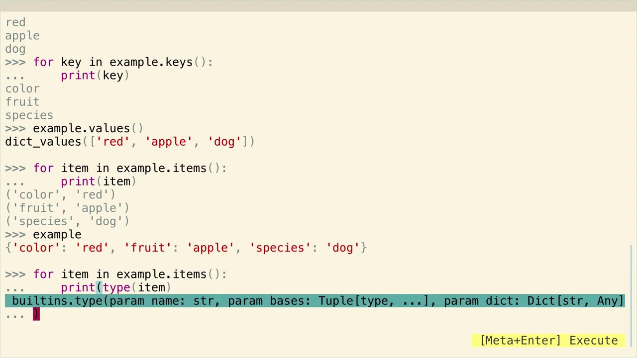 Iterate Through a Dictionary in Python ...