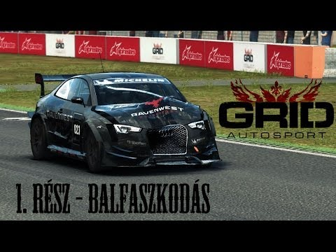 GRID Autosport Gameplay 1. rész (HUN - Magyar)