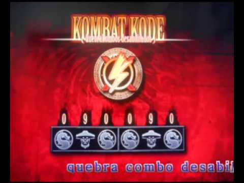 Mortalkombat 9 Todo Os Codigos Da Tela Vs Youtube