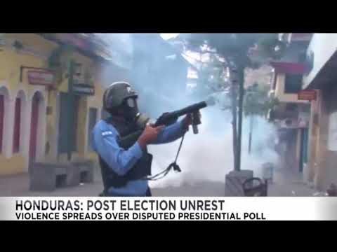 HONDURAS POST ELECTION UNREST