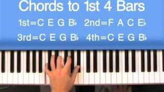 Hear and Play Jazz 101: Blues Form Step By Step on Piano