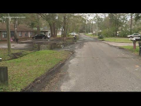 Constant street flooding a concern for a Westside Jacksonville neighborhood