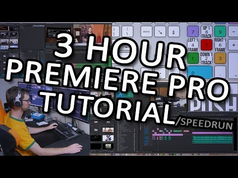 Insane Premiere tutorial - Editing an LTT video from start to finish - FULL commentary
