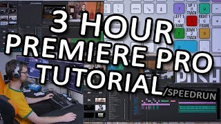 [THE FIRST] Insane Premiere tutorial - Editing an LTT video from start to finish - FULL commentary