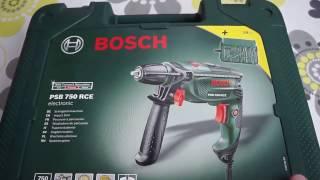 Обзор Bosch PSB 750 RE