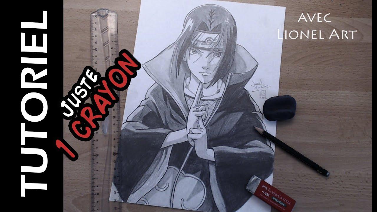 Comment dessiner itachi avec 1 crayon hb youtube - Comment dessiner sasuke ...