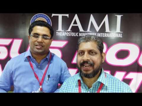 Kerala Tami Pastors Conference by Pastor Prathibha Rao. English to Malayalam.13th September,2016