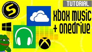 xbox music escucha tu msica de onedrive tutorial