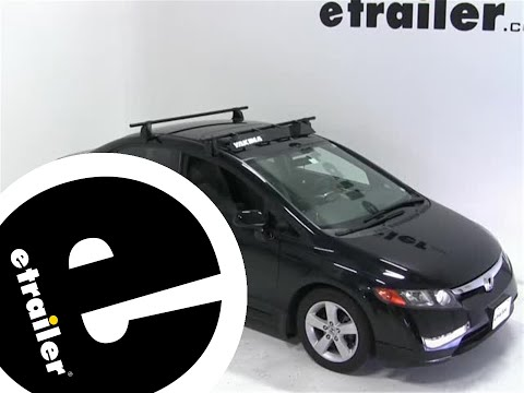 Yakima Roof Rack Fairing Review - 2007 Honda Civic - etrailer.com