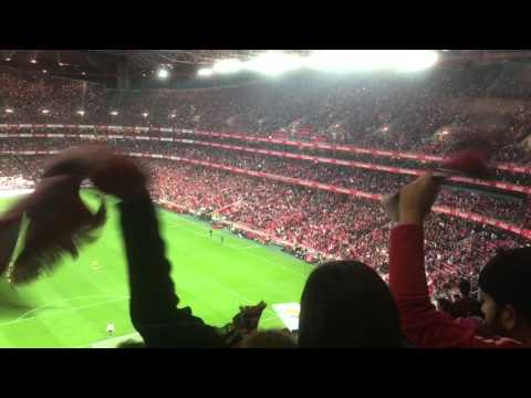 The Benfica Experience: Benfica V Arouca, Estádio da Luz, Lisbon, Portugal - 23rd January, 2016