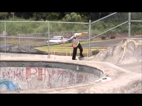 Neal Unger at Pahoa Skate Park