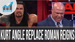 Kurt Angle To Replace Roman Reigns At WWE TLC 2017 As Illness Destroys Raw Locker Room