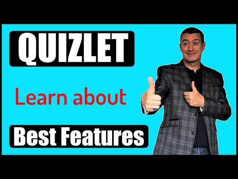 Quizlet 2017: Introduction To The Basic Features