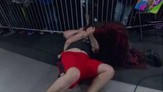 Matt Hardy Goes After A Ringside Fan??