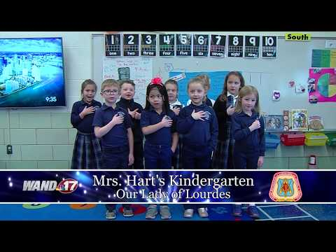 Daily Pledge Our Lady of Lourdes Kindergarten