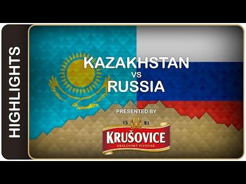 Hosts bounce back against Kazakhstan | Kazakhstan-Russia HL | #IIHFWorlds 2016
