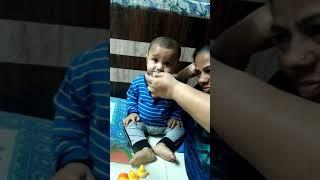 Funny baby so cute
